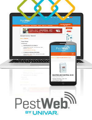 New at PestWeb: enhanced search, easier label/SDS access, favorites lists & mobile site design!