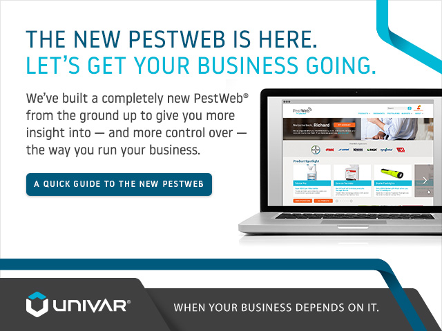 PestWeb Launch Light Box