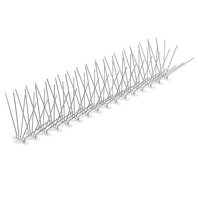 MasterLine Stainless Steel Bird Spikes 50 ft L x 8 in W