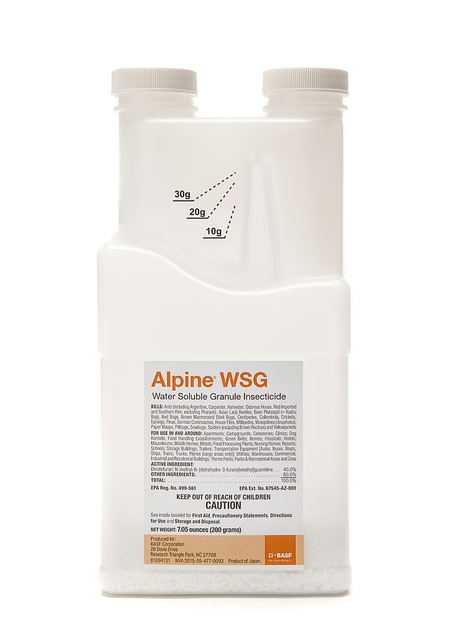 Alpine® WSG Water Soluble Granule Insecticide