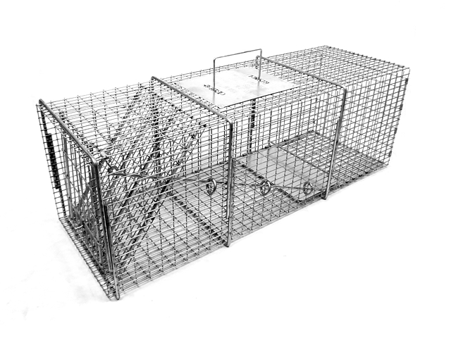 1010SS - Tomahawk Pro Series 10x10 Raccoon Trap