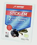 Stick-Em® City Rat and Snake Glue Traps