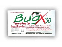 Coretex Bugx30 Insect Repellent Towelettes