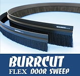 Burrcut Flex Door Sweeps 82ft, BH:1.57