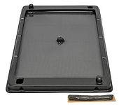 48R Series Rat Glue Tray - Black Tray (Includes Hercules Putty™) - 	Cherry