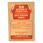 Bait Station Nylon Ties 50/pk