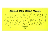 948 Giant Fly Glue Trap w/ Attractrant