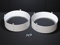 "XT Duct Kit Supply Only, 10"" collars"