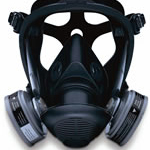 SURVIVAIR OPTI-FIT FULL FACE RESPIRATOR LARGE
