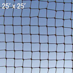 Bat Net - Black - 3/8
