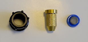 Solo Brass Adjustable Spray Nozzle Kit