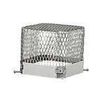 Raccoon Screen, Stainless, 9 x 9 x 6