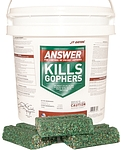 ANSWER FOR POCKET GOPHERS BAIT