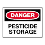 SIGN-DANGER:PEST.STOR.10