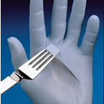 Glove N-Dex Disposable Powder Blue