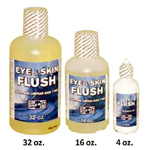 Emergency Saline Eye Flush 4 oz