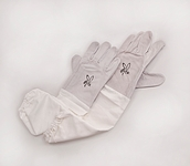 Leather Bee Gloves - Size X-Large
