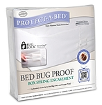 BED BUG PROOF BOX SPRING ENCASEMENT HOTEL KING