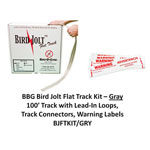 BIRD JOLT FLAT TRACK KIT GRAY W/HDWRE