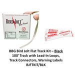 Bj F-track Kit Blk 100ft