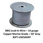 Bj Lead Wire Gry 50'/rl
