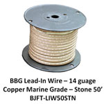 Bj Lead Wire Stone 50' Rl