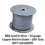 Bj Lead Wire Gry 100'/rl