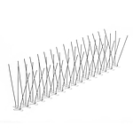 Mega Stainless Steel Bird Spikes 50 ft L x 7 in H