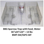 SPARROW TRAP W/TRAYS