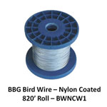 BBG Bird Wire Nylon Coated 820