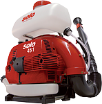 Solo 451 3-Gallon 66.5cc 2-Stroke Gas Powered Backpack Mist Blower