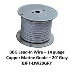 Bj Lead Wire Gry 20'/rl
