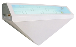WS-95 - Decorative Wall Sconce Adhesive Trap - 50 Watts - White