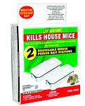 Answer Kills Mice with Reusable Bait Station