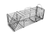605SS - 7x7 Pro Skunk Trap with One Trap Door and Rear Access Door