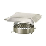 Draft King Chimney Cover, Stainless, 5/8