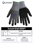 Tsunami Grip New Foam Technology Nitrile Glove - Large