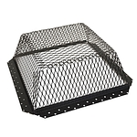 Roof VentGuard, Stainless, Black, 16 x 16 x 5, 3-Pack