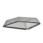 Roof VentGuard, Stainless, Black, 25 x 25 x 6