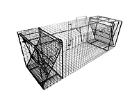"C12DD-36 - Comstock Double Door Trap with 1/2"" x 1"" Wire Mesh"