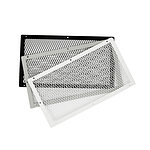 "Foundation Ventguard 10x18"" Galvanized Gray"