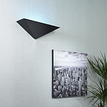 Illume Alpha (Wall Sconce) Black