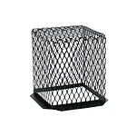 Roof VentGuard, Black Galvanized, 11 x 11 x 13